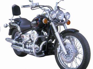 Soportes Alforjas Yamaha Dragstar-Vstar XVS650 / XVS400