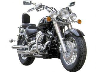 Respaldo Yamaha Dragstar-Vstar XVS650 / XVS400 Classic