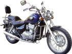 Respaldo Kawasaki EN 500 (llantas de radios)