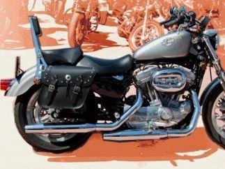 Alforjas Harley Davidson Sportster modelo APACHE Clásicas