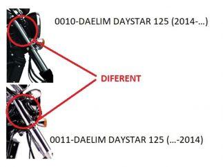Parabrisas modelo BATWING para Daelim Daystar 125