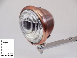 Faro auxiliar homologado cobre