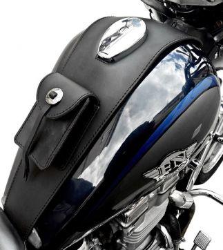 Cubredepósito de piel  Kawasaki Vulcan 500 EN