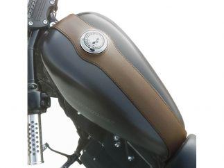 Cubredepósito de piel  HD Sportster