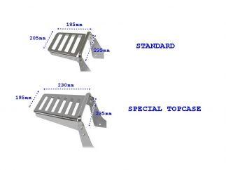 Portaequipajes Suzuki Intruder VL125, 125LC, VL250, 250LC