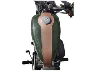 Cubredepósito de piel  Hyosung Aquila GV 125 / 300 S Bobber