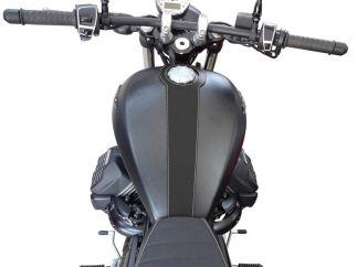 Cubredepósito de piel  Moto Guzzi V9 Bobber - Roamer