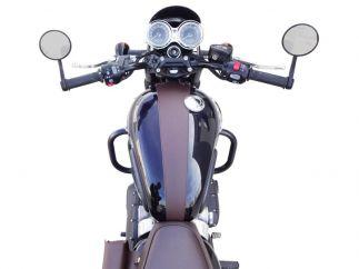 Cubredepósito de piel Triumph Bonneville - Speed Twin - Scrambler - Street - Thruxton