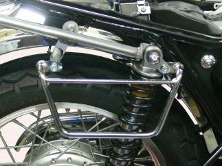 Soportes Alforjas klickFix Kawasaki W650, W800