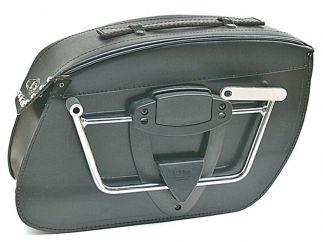 Soportes Alforjas klickFix Harley Davidson Softail FLS Slim / FXS Blackline