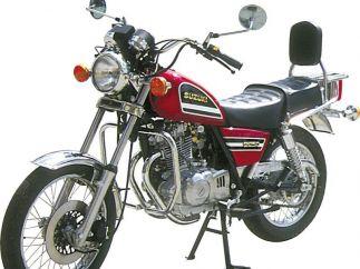 Defensa Motor Suzuki GN250, TU250, ST250