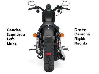 Alforjas Harley Davidson Sportster Modelo Bando