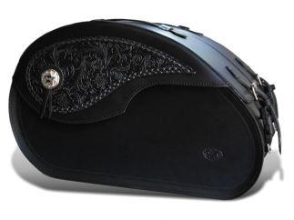 Alforjas moto custom NAPOLEON Gotikas