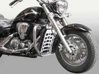 Cubreradiador (Inox) Yamaha Midnight Star XVS1300A / XVS1300 CFD