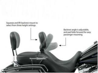 Respaldo Harley Davidson modelo SOLO TOURING