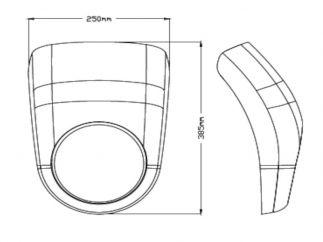 Semicarenado ANARCHY para Yamaha XV950R
