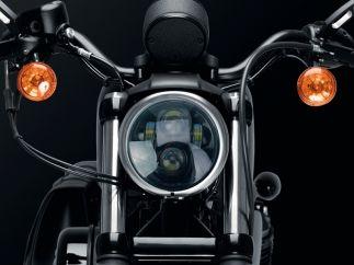 Faro LED Harley D. Sportster / Softail / Street / Dyna modelo Ovni