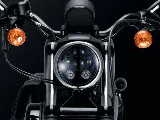 Faro LED Harley D. Sportster / Softail / Street / Dyna modelo Ovni II