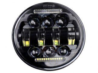 Faro LED Harley D. Sportster / Softail / Street / Dyna modelo Alien