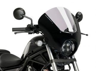 Semicarenado DARK NIGHT para Honda REBEL 500 (2021-...)