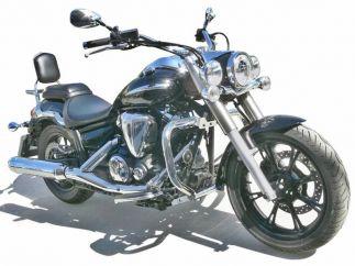 Soporte de faros auxiliares Yamaha Midnight Star-Vstar XVS950A